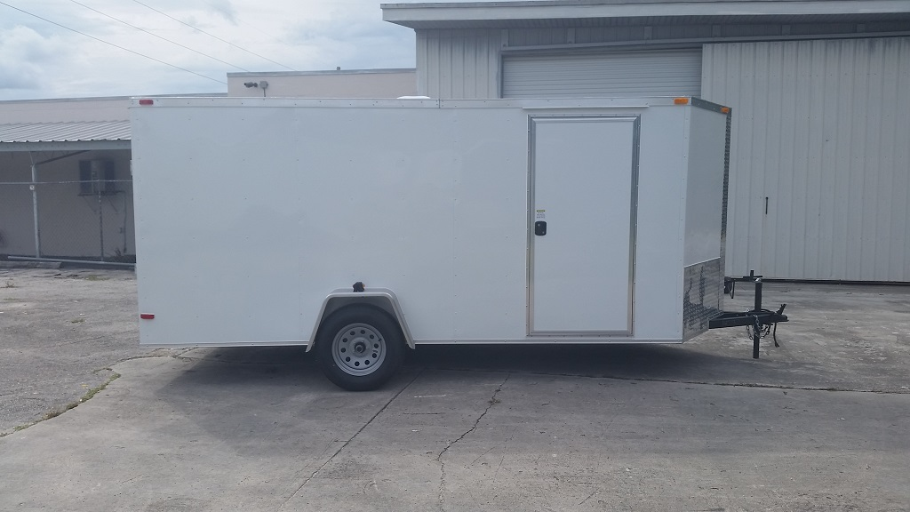 6 x 14 Single Axle Enclosed Trailer Basic Image