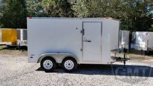 6 x 12 Tandem Axle Enclosed Trailer Premium Image
