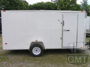 6 x 14 Single Axle Enclosed Trailer Premium Image
