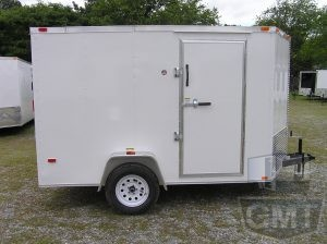 7 x 10 Single Axle Enclosed Trailer Premium Image