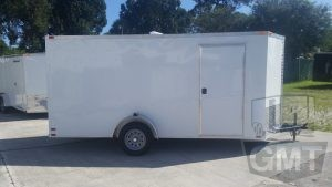 6 x 14 Single Axle Enclosed Trailer Standard Image