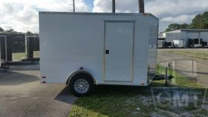 7 x 10 Single Axle Enclosed Trailer Standard Image