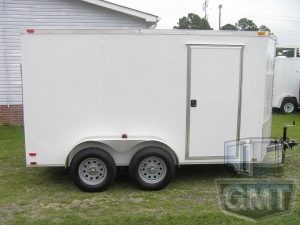 6 x 12 Tandem Axle Enclosed Trailer Standard Image