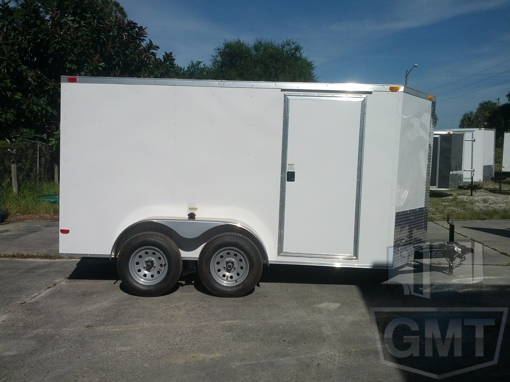 6 x 12 Tandem Axle Enclosed Trailer Basic Image