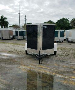 5x6 SA Trailer - Black, Single Door