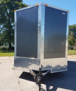 8.5x20 TA Trailer - Charcoal, Ramp, 7K Axles, Extra Height, Electrical, AC, Additional Options