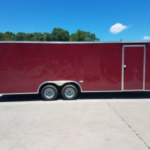 8.5x24 TA Trailer - Brandywine, Ramp, Side Door
