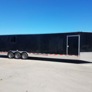 8.5x34 TTA3 Trailer - Black, Concession, Awning, Electrical, Options